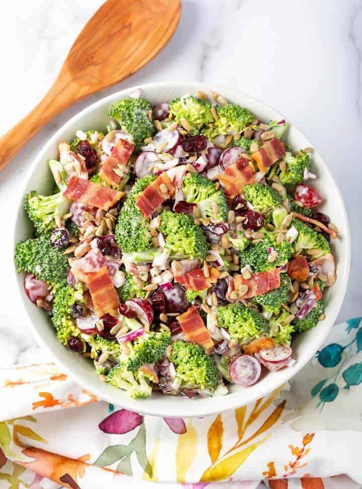 Broccoli Grape Salad