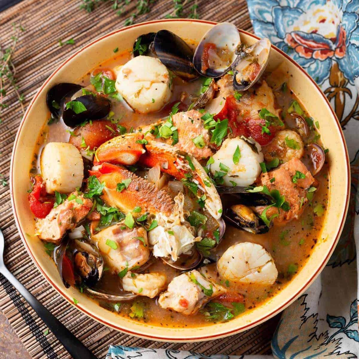 Cioppino Fish Stew