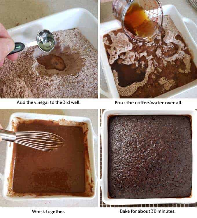 cake making process