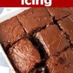 Easy 1 Minute Chocolate Icing