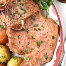 Maple Ginger Pork Chops