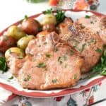 Maple Ginger Pork Chops