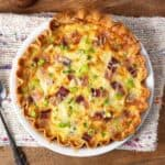 Bacon Cheese Quiche