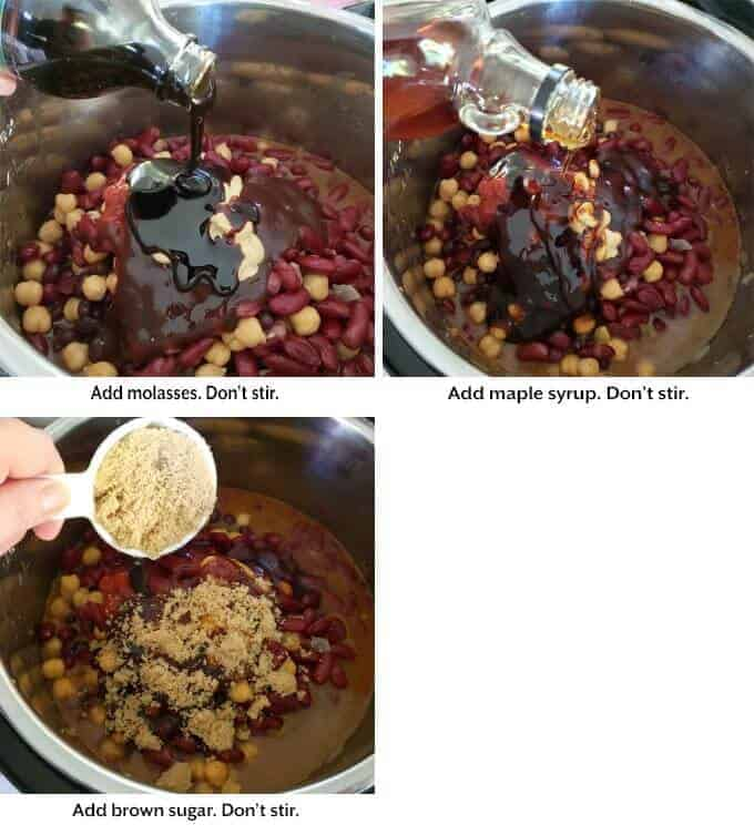 Instant Pot Hamburger Baked Beans