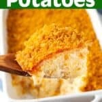 Cheesy Funeral Potatoes pin