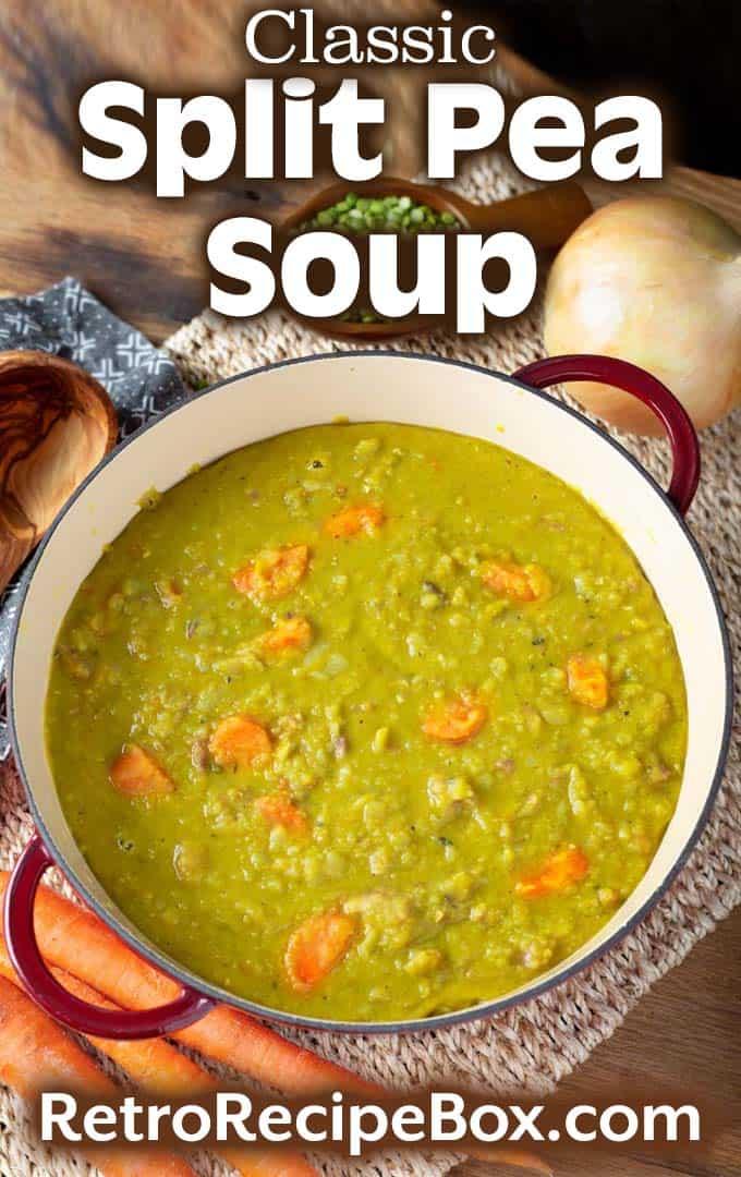 Split Pea Soup pinterest pin