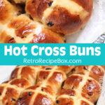 Hot Cross Buns close up